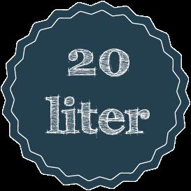 20 liter såjord